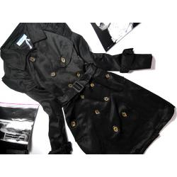 Płaszcz TRENCZ z bufkami BUFKI Power Shoulders XL