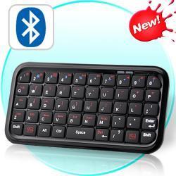 Mini Bluetooth Keyboard for Android, iPhone, iPad, iPad 2, PS3, Więcej
