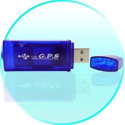 GPS Receiver USB Adapter for Computers (Netbook, Laptop, UMPC) Odbiornik GPS Adapter USB do komputera (Netbook, laptop, UMPC