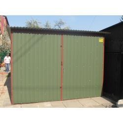 Garaż blaszany 3x5 typowy KOLOR I gatunek