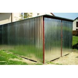 Garaż blaszany 3x5 - konstrukcja z profili zamkniętych