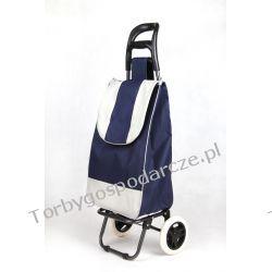 Wózek na zakupy standard 02 granatowy Torby i walizki