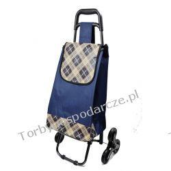 Wózek na zakupy z potrójnymi kołami  3K 03