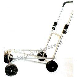 Wózek towarowy czterokołowy ręczny WM-platforma Torby i walizki