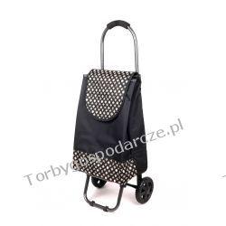 Wózek na zakupy  S 02 czarny Torby i walizki