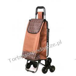 Wózek na zakupy z potrójnymi kołami z siedzeniem 3K-S04 Torby i walizki