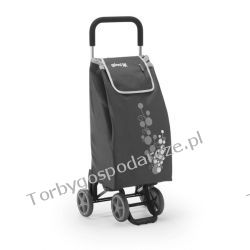 Wózek na zakupy na czterech kółkach  GIMI TWIN Promocja Woreczki i torby foliowe