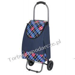 Wózek na zakupy  S 05 granatowy Torby i walizki