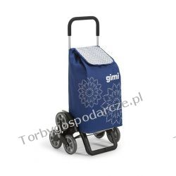 Wózek na zakupy z potrójnymi kołami Gimi Tris Woreczki i torby foliowe