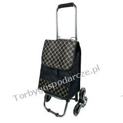 Wózek na zakupy ze składaną rączką 3 kołowy 3M10 Galanteria i dodatki