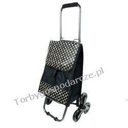 Wózek na zakupy ze składaną rączką 3 kołowy 3M11 Woreczki i torby foliowe