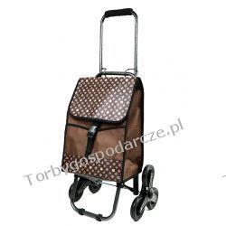 Wózek na zakupy ze składaną rączką 3 kołowy 3M13