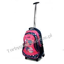 Plecak szkolny na kółkach Sackar Cat Woreczki i torby foliowe