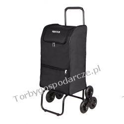 Schodowy wózek na zakupy, transportowy, składany Boster XL 3k