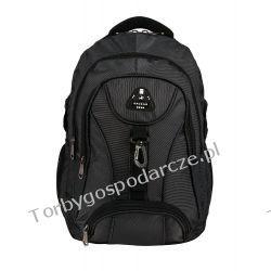 Plecak Sackar 01 czarno-szary Galanteria i dodatki