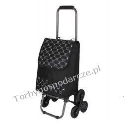 Wózek na zakupy ze składaną rączką 3 kołowy 3M13 Woreczki i torby foliowe