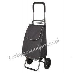 Wózek na zakupy składany Szarak Woreczki i torby foliowe