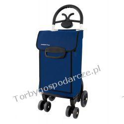Wózek na zakupy na czterech kółkach  Aurora Forza 4k