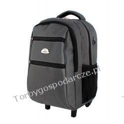 Plecak szkolny na kółkach Ormi Odzież, Obuwie, Dodatki