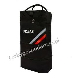 Torba podróżna na kółkach, składana ORMI 3W1 50cm/32cm/8cm Torby i walizki