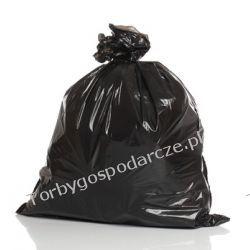Worki foliowe na odpady i nie tylko 400 l/20 szt Biuro i Reklama