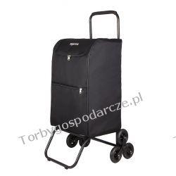 Schodowy wielki wózek transportowy na ulotki pocztowy składany Boster XXXL 3k Torby i walizki