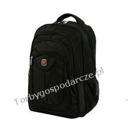 Plecak Lumi 01 czarny Odzież, Obuwie, Dodatki