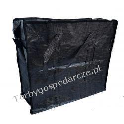 Torba gospodarcza handlowa zakupowa 01 czarna 32/35/15  cm Galanteria i dodatki