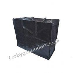 Torba gospodarcza handlowa zakupowa czarna 04 - 50/63/28 cm Torby i walizki