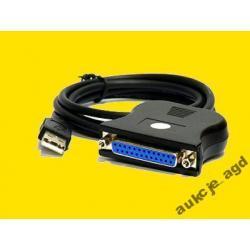 ADAPTER USB na LPT WTYCZKA ŻEŃSKA - NOWY