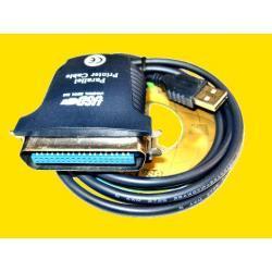 ADAPTER USB na LPT złącze CENTRONICS - NOWY