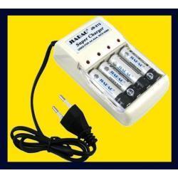 ŁADOWARKA + 4 x akumulatory AA 4800mAh