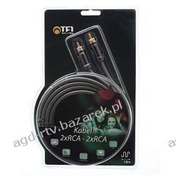 Firmowy kabel COAXIAL 2x RCA - 2x RCA Cinch GOLD