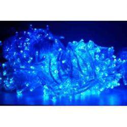 lampki 100 led jasno niebieskich żarówek