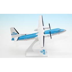 Model Fokker 50 KLM Royal Dutch Airlines 1:100