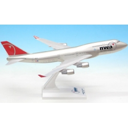 Model Boeing B747-400 Northwest Airliners 1:250