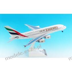 Model AirBus A380-800 Emirates Wysokie detale 1:200 3 edycja