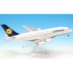 Model AirBus A380-800 Lufthansa 1:200 Wysokie Detale druga edycja