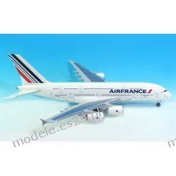 Model AirBus A380-800 Air France 1:200 Wysokie Detale, srebrna podstawka