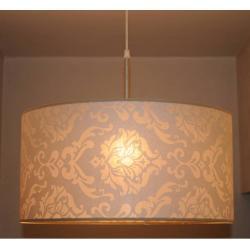 Lampa pojedyńcza BOSTON - abażur śr. 50 cm