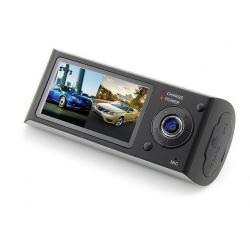 Rejestrator samochodowy ES3000 GPS, G-Sensor, Dual Cam