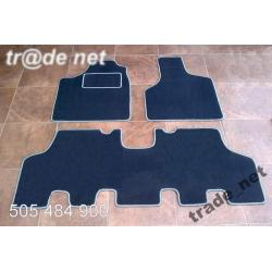 Chrysler Grand Voyager 2001-2007 szyny extra welur Do bagażnika