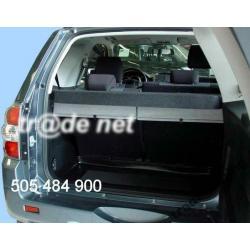 SUZUKI GRAND VITARA 3 drzwi od 2005 mata ochronna Do bagażnika