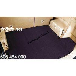 Mitsubishi Outlander od 2012 do 2016 górny bagażnik extra welur Gumowe