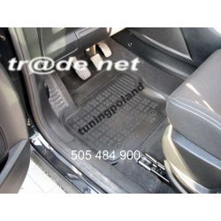 Gumowe korytka rant 3cm Peugeot 208 VAN od 2012