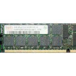 Pamięć RAM 4GB 2x2GB PC2 3200R ECC DDR2 dell 2850 1850 sc1420