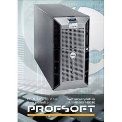 Serwer DELL PowerEdge 2900 2x1,86GHz QC 8GB 2x1TB DVD Tower