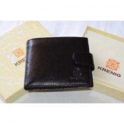 Krenig Classic 12005 portfel męski czarny