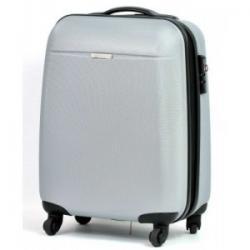 Puccini walizka PC 005 C na kołach mała srebrna...
