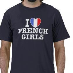 Koszulka I love french girls